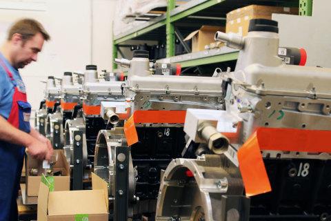 Montage der Motoren