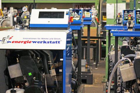 Energiewerkstatt Produktionshalle
