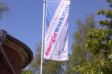 Fahne Energiewerkstatt
