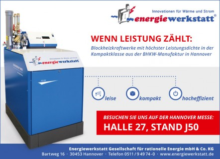 Anzeige Hannover Messe