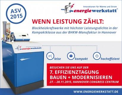 Energieeffizienztagung in Hannover