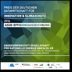 Effizienzauszeichung Energiewerkstatt Dez 16