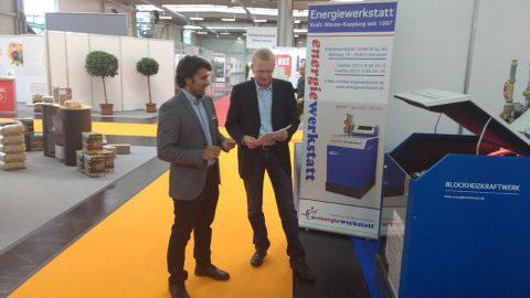 Energiewerkstatt auf der RENEXPO 2016 in Augsburg