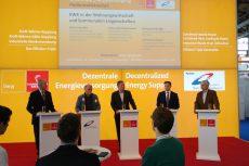 Hannover Messe: Podiumsdiskussion mit Teilnehmern aus der KWK-Praxis