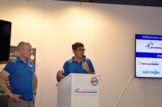 Geschäftsführer Lutz Raugust und Lutz Gärtner begrüßten die zahlreich erschienenen Besucher